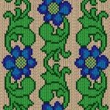 Kleuren breiende bloemen Royalty-vrije Stock Foto