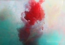 Kleuren buitensporige rook Royalty-vrije Stock Fotografie