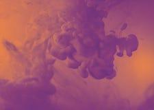 Kleuren buitensporige rook Royalty-vrije Stock Afbeelding
