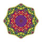Kleuren cirkelpatroon vector illustratie