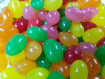 kleuren en aroma'sgeleibonen royalty-vrije stock afbeelding