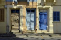 Kleuren en deuren Royalty-vrije Stock Afbeeldingen