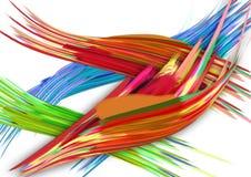 Kleuren grafische textuur als achtergrond kleurrijk van het textuurontwerp modern digitaal grafisch art. als achtergrond Stock Foto's