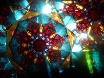 kleuren kaleidoscop textuur stock foto
