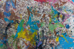 Kleuren multicolored bevlekte bestrating Achtergrond Stock Foto