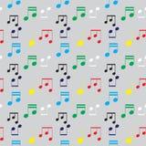 Kleuren muzikaal patroon vector illustratie