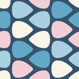 Kleuren naadloos patroon met de Vectorillustratie van gitaaroogsten vector illustratie