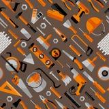 Kleuren naadloos patroon van de bouw Stock Foto's