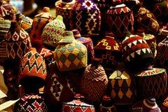 Kleuren in oosterse markten royalty-vrije illustratie