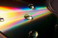 Kleuren op CD Royalty-vrije Stock Afbeeldingen