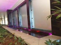 Kleuren op zonsondergang Stock Foto