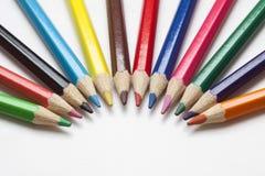 kleuren potlood Royalty-vrije Stock Afbeelding