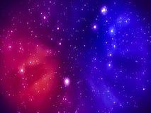 Kleuren ruimteachtergrond stock footage
