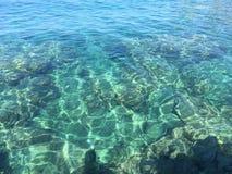 Kleuren van Adriatische Overzees stock afbeeldingen