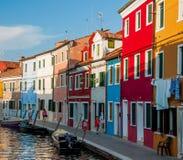 Kleuren van Burano royalty-vrije stock foto's