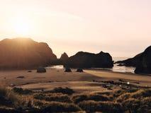 Kleuren van de Kust van Oregon Stock Afbeeldingen