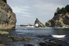 Kleuren van de Kust van Oregon Stock Afbeelding