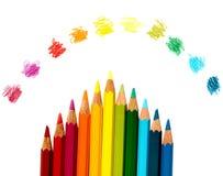 Kleuren van de Regenboog Stock Afbeeldingen