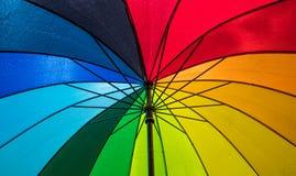 Kleuren van de regenboog Stock Foto