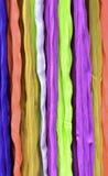 Kleuren van de stoffen van de regenboogkleur Stock Foto's