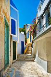 Kleuren van Griekenland Stock Fotografie