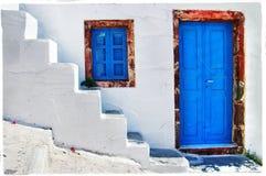 Kleuren van Griekenland Royalty-vrije Stock Afbeeldingen
