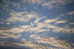 Kleuren van hemel stock foto