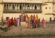 Kleuren van India Stock Afbeeldingen