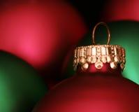 Kleuren van Kerstmis Stock Afbeeldingen