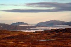 Kleuren van Lapland Een speciaal Noors landschap royalty-vrije stock foto