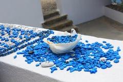 Kleuren van Santorini Royalty-vrije Stock Fotografie