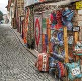 kleuren van straat royalty-vrije stock afbeelding