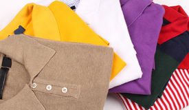 Kleuren van t-shirts royalty-vrije stock foto's