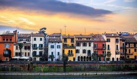 Kleuren van Verona stock afbeelding