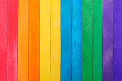 Kleuren volledige houten achtergrond Royalty-vrije Stock Afbeeldingen