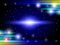 Kleuren volledige lichte Abstracte Achtergrond Stock Fotografie