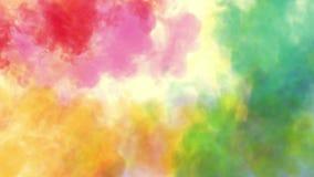 Kleuren voor holifestival stock footage