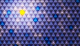 Kleurenachtergrond van Kubussen wordt gemaakt die Royalty-vrije Stock Afbeelding