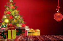 Kleurenballen voor de Kerstboom Stock Foto