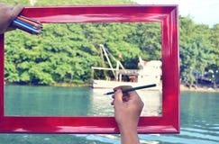 Kleurenbeelden Royalty-vrije Stock Foto