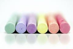 Kleurend krijt Stock Foto's