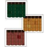 Kleurendakspanen Royalty-vrije Stock Afbeelding