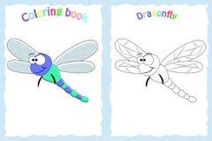 Kleurende boekpagina voor peuterkinderen vector illustratie