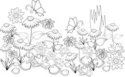 meadow coloring page - meadow flower coloring pages coloring pages