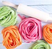 Kleurendeegwaren Stock Fotografie