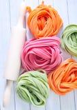 Kleurendeegwaren Royalty-vrije Stock Fotografie