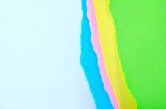 Kleurendocument stock afbeelding
