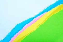Kleurendocument stock foto