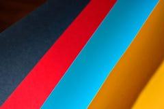 Kleurendocument samenstelling Stock Afbeelding