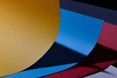 Kleurendocument samenstelling Royalty-vrije Stock Afbeelding